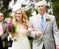 By her side: Kate was escorted down the aisle by her father. Photography Ideas, Wedding Photography, Father Of The Bride, Real Weddings, In This Moment, Wedding Photos, Wedding Pictures