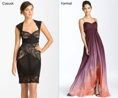 ballroom wedding guest attire i really love the ombre chiffon gown on the right