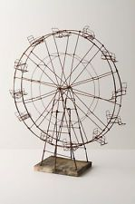 $350 this makes me so happy, and i love it. ANTHROPOLOGIE WEATHER WORN FERRIS WHEEL!