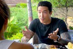 Michael Noshimuri <3 <3 <3 #HawaiiFiveO #DanielHenney #BadBoy #Tattoos #CBS