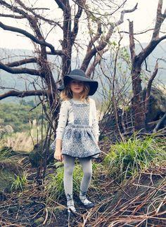 Nellystella Ella Dress in Heart Tapestry - PRE-ORDER