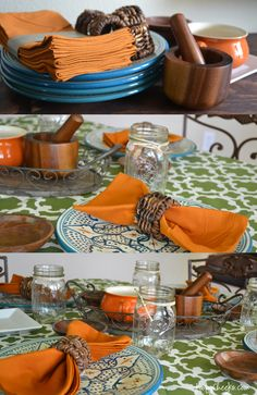 Create your own Santa Fe inspired tablescape just like poofycheeks.com did after shopping at @WorldMarket #WorldMarketSweeps