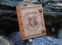 Harry Potter notebook Wooden notebook Harry Potter journal Harry Potter sketch book Wood notebook   This notebook handmade from natural…