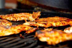 Nem og hurtig opskrift på basis barbecue marinade via Barbecue, Shrimp, Dips, Steak, Bruges, Chicken, Food, Dressing, Barbacoa