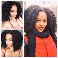 Good hair days are always appreciated #braidout #naturalhair #harlem #castoroil ~ nice hair
