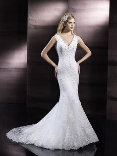 Cheap Pageant Dresses - Discount 2014 Wedding Dresses Charming Hot Sale Mermaid V Online with $165.87/Piece | DHgate