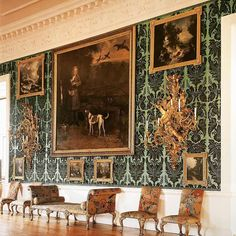 The gallery at Temple Newsam, Portrait of The 3rd Viscount Irwin Viscount, Anglo Saxon, European History, 3 Things, King Queen, Historical Photos, Beautiful World, Renaissance, Medieval