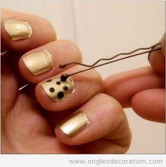 Trucs simples pour décoration sur ongles 5
