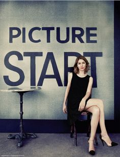 "Sofia Coppola shot by Ruven Afanador for The Hollywood Reporter May 2013 | Prop Stylist & Set Designer Shawn Patrick Anderson | bridgeartists.com | ""Coppola wears a Chanel dress and shoes."""