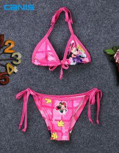 赤ちゃん幼児水着水着ビキニ水着二枚漫画衣装タンキニ海水浴客ドレスビーチウェア用女の子子キッズ