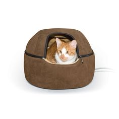 K&H Pet Products KH3897 Kitty Dome Bed Heated