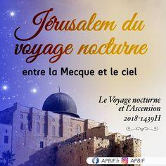 Voyage nocturne et l'ascension 🎀 Nocturne, Al Isra Wal Miraj, L Ascension, Ciel, Taj Mahal, Movies, Movie Posters, Travel, Art