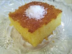 Greek Sweets, Greek Recipes, Vanilla Cake, Cheesecake, Desserts, Food, Tailgate Desserts, Deserts, Cheesecakes