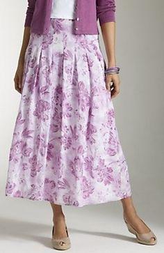 summer weight skirt, floral, modest, feminine, dressy outfit