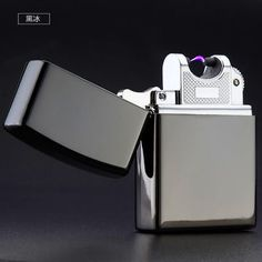 Electronic Cigarette lighter Check this gadget out...Great gift for fathers day !! Windproof USB Rechargeable Flameless Electric Arc