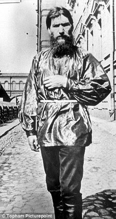 Rasputin, reputed lover of the Russian queen
