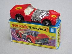 Matchbox Superfast Road Dragster 1970's Retro Toy | da beetle2001cybergreen