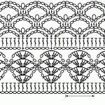 Схема ажурной кофточки крючком