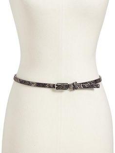 Old Navy   Women's Skinny Belts