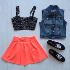Cute Aeropostale outfit with crop top. #cute #fashion