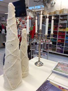 #Decoration - Creative christmas trees, white