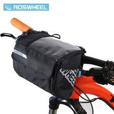 14.22$  Buy here - ROSWHEEL 3L Bicycle Handlebar Bag MTB Road Bike Cycling Front bar Pannier Frame Pouch Map bags Bycicle Bolsa Bicicleta 111271   #buyonlinewebsite