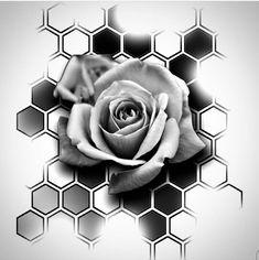 # - Land of Tattoos Full Arm Tattoos, Rose Tattoos, Flower Tattoos, New Tattoos, Body Art Tattoos, Hand Tattoos, Sleeve Tattoos, Rose Drawing Tattoo, Tattoo Sketches