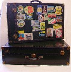 Crazy Art. Trunk - suitcase n° 9 e 134 Franzi