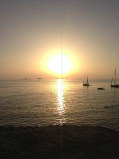 Talamanca sunset