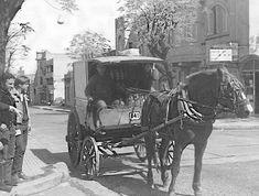 """1960.- """"El carro del lechero"""", Montevideo, Uruguay."""