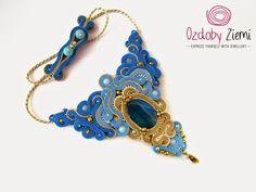 Ozdoby Ziemi: Naszyjnik sutasz dla Ofelii #sutasz #soutache #necklace…