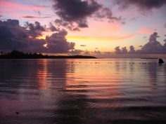 Moorea Sunset, French Polynesia