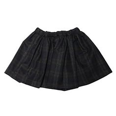 Tuchinda Blue Plaid Flair Skirt  #ladida #ladidakids ladida.com