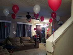 Diy 25 balloons/reasons I love you