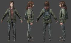 The Last of Us Ellie Winter by luxox18