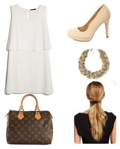 """""""Untitled #59"""" by tvj19 ❤ liked on Polyvore featuring MANGO, Charlotte Russe, Nouv-Elle, Louis Vuitton and Natasha Accessories"""