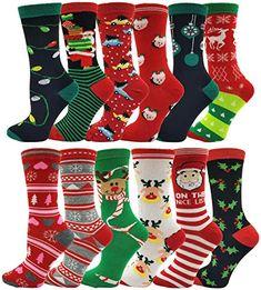 calcetines de tubo de impresi/ón de alce medias medias Spier Medias de Navidad para mujer calcetines de tubo de Navidad con cordones calientes de pantorrilla