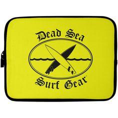 Dead Sea Surf Gear -- Laptop Sleeve - 10 inch