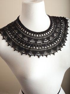 Carmelita's Bella Necklace - Black | IFAM | Online