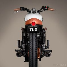 Triumph Bonneville T100 by Ton-Up Garage, Porto, Portugal