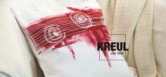 Entdecke die neue Technik #Farbblockieren auf #Stoff #Textildesign by #KREUL
