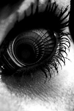 Eyes are the stair way to the soul.