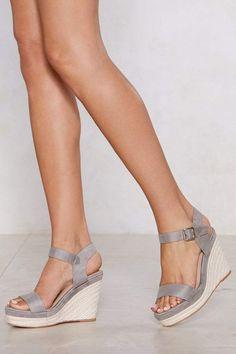 1ac33fb689b8 Nasty Gal The Wedge of Glory Espadrille Wedge Wedge Shoes