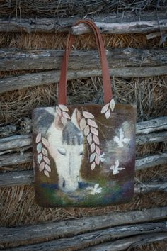 Felted Bag Handbag Purse Felt Nunofelt Nuno felt  Eco $237.00 ♥ by www.etsy.com/shop/Feltsongs