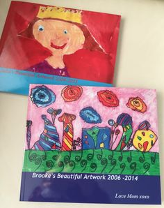 Image result for child artwork photo book