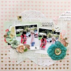 2 - My Creative Scrapbook Limited Edition Kit OCT 2014 Prima - Coffee Break Collection
