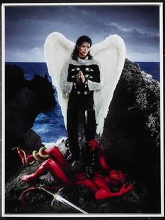 American Jesus: Archangel Michael Jackson (SML) by David LaChapelle