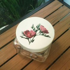 Vintage decorative jar