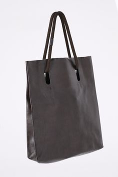 Chalayan Rope Handle Leather Bag