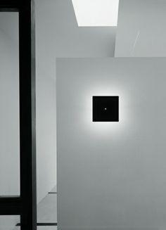 Viabizzuno   Lampada Quadra   Wall light by A G Fronzoni